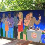 Lone Star Beer Mural at Fitzgeralds 2