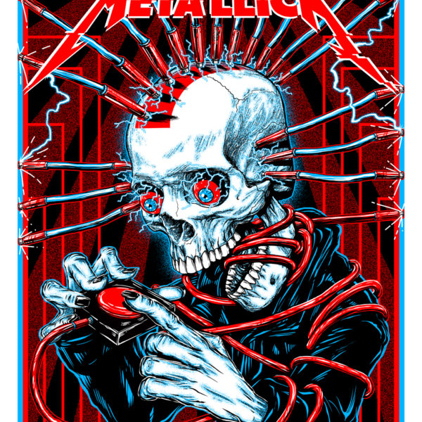 Metallica-KylerSharp-VIP-Poster